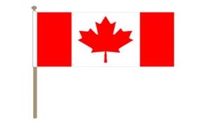 Image of   Canada Håndflag (30x45cm)