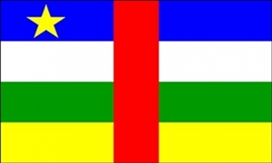 Image of   Centralafrikanske Republik Flag (90x150cm)