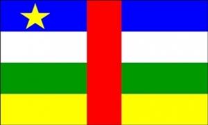 Billede af Centralafrikanske Republik Flag (90x150cm)
