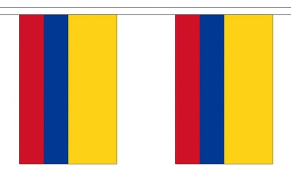 Image of   Colombia Guirlander 3m (10 flag)