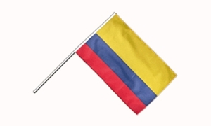 Image of   Colombia Håndflag (15x22cm)