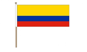 Image of   Colombia Håndflag (30x45cm)