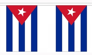 Image of   Cuba Guirlander 3m (10 flag)