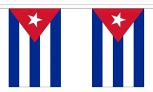 Image of   Cuba Guirlander 9m (30 flag)