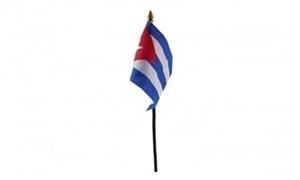 Image of   Cuba Håndflag (10x15cm)