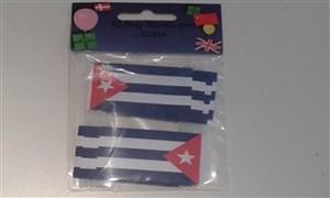 Image of   Cuba Kageflag (30x48mm)