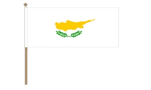 Image of   Cypern Håndflag (30x45cm)