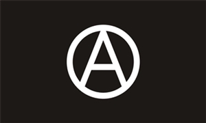 Image of   Anarchy Flag (90x150cm)