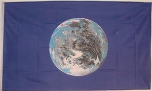 Image of   Planet Earth Flag (90x150cm)