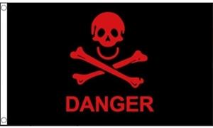 Image of   Danger Flag (90x150cm)
