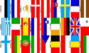 Image of   Euro 27 Nations Flag (90x150cm)