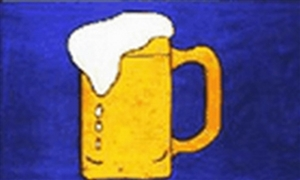 Image of   Beer Flag (90x150cm)