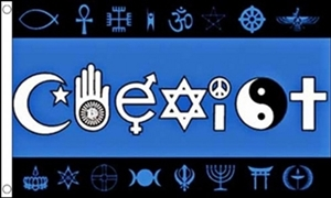 Image of   Coexist Flag (90x150cm)