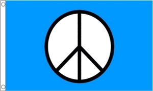 Image of   CND Peace Flag (90x150cm)