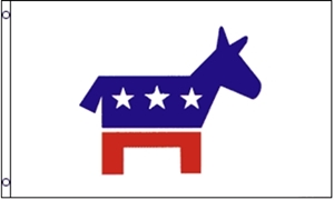 Image of   Democrat Party USA Flag (90x150cm)