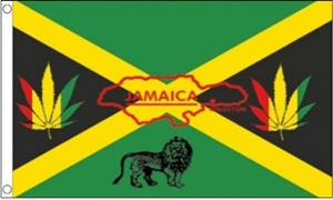 Image of   Jamaica Reggae Flag (90x150cm)