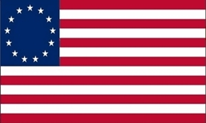 Image of   Betsy Ross Flag (90x150cm)