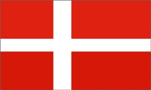 Image of   Dannebrog Flag (90x150cm)