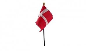 Image of   Dannebrog Håndflag (10x15cm)