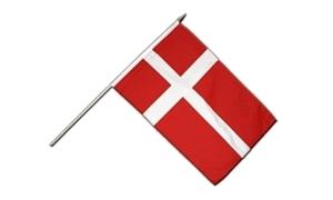 Image of   Dannebrog Håndflag (15x22cm)