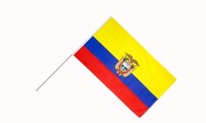 Image of   Ecuador Håndflag (15x22cm)