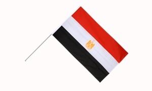 Image of   Egypten Håndflag (15x22cm)