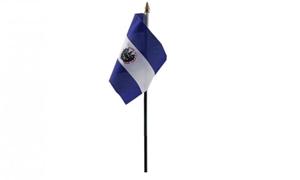 Image of   El Salvador Håndflag (10x15cm)