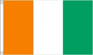 Image of   Elfenbenskysten Flag (90x150cm)