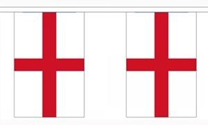 Image of   England Guirlander 3m (10 flag)