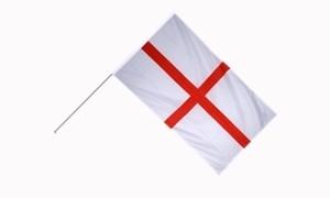 Image of   England Håndholdt Papirflag (20x27cm)