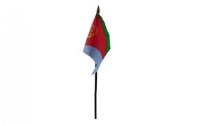 Image of   Eritrea Håndflag (10x15cm)