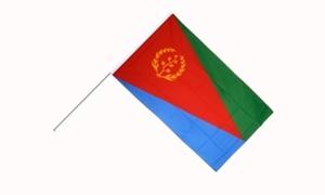 Image of   Eritrea Håndflag (15x22cm)