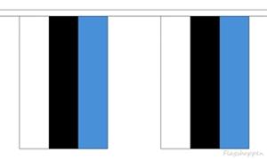 Image of   Estland Guirlander 9m (30 flag)