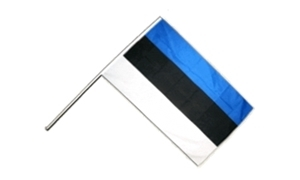 Image of   Estland Håndholdt Papirflag (20x27cm)