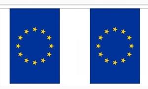 Image of   Europæiske Union Guirlander 9m (30 flag)