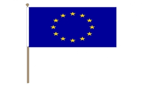 Image of   Europæiske Union Håndflag (30x45cm)