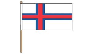 Image of   Færøerne Håndflag (30x45cm)