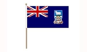 Image of   Falklandsøerne Håndflag (30x45cm)