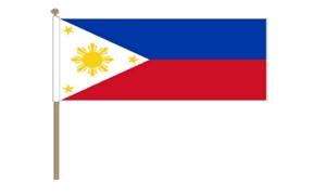 Image of   Filippinerne Håndflag (30x45cm)