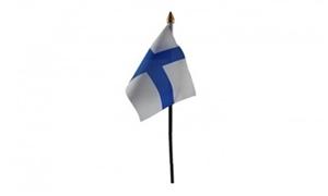 Image of   Finland Håndflag (10x15cm)