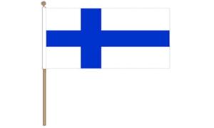 Image of   Finland Håndflag (30x45cm)