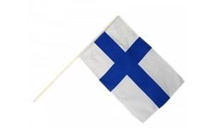 Image of   Finland Håndholdt Papirflag (20x27cm)