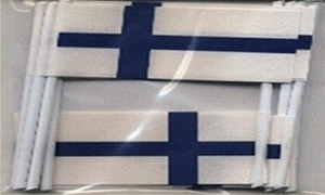 Image of   Finland Kageflag (30x48mm)