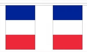 Image of   Frankrig Guirlander 9m (30 flag)
