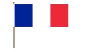 Image of   Frankrig Håndflag (30x45cm)