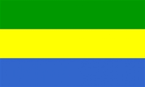 Image of   Gabon Flag (90x150cm)