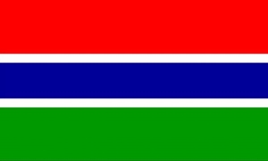 Image of   Gambia Flag (90x150cm)