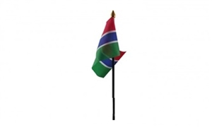 Image of   Gambia Håndflag (10x15cm)