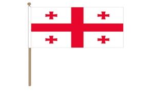 Image of   Georgien Håndflag (30x45cm)
