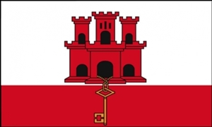 Image of   Gibraltar Flag (90x150cm)